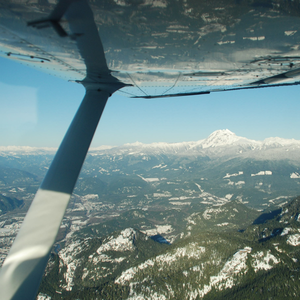 Evergreen Adventures - Glaciers & Whistler by Air
