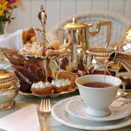 High Tea at the Fairmont